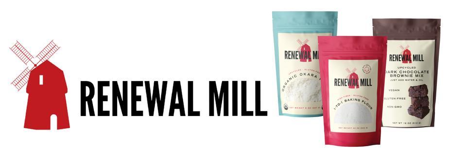 Renewal Mill okara upcycling