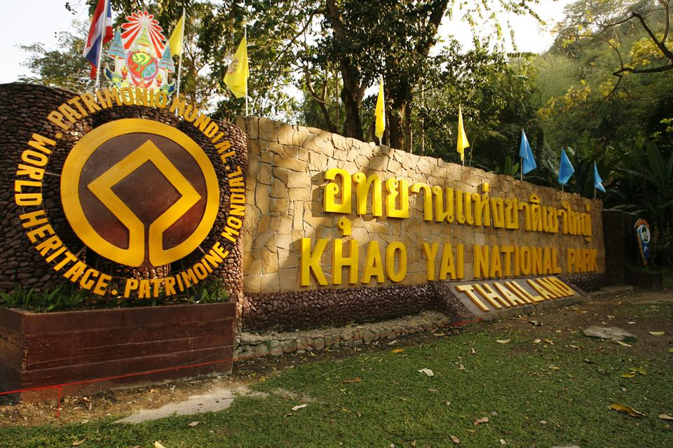 Thailand, Khao Yai National Park, placed on UNESCO's World Heritage list in Thailand in February, 2008.