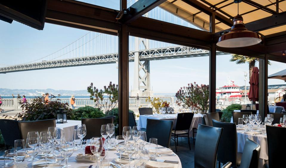 Views from EPIC Steak dining room.