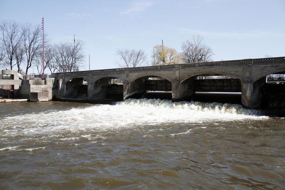 FLINT, MI - APRIL 20: The Flint River is shown in downtown Flint April 20, 2016 in Flint, Michigan. (Photo by Bill Pugliano/Getty Images)