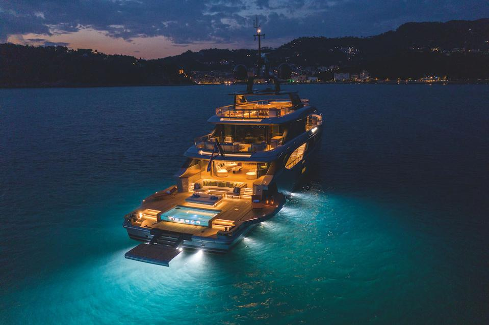 The Benetti Oasis 40M has a never-see-before design that reimagines what a 130-foot yacht can do.