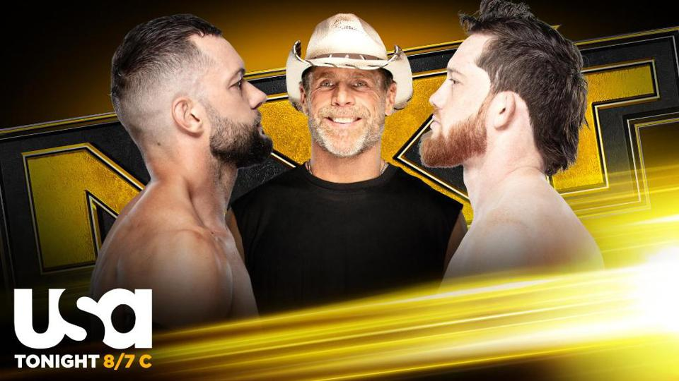 Finn Balor and Kyle O'Reilly came face to face on WWE NXT.