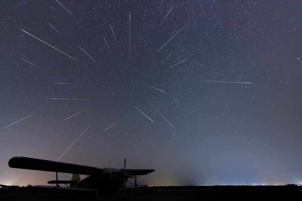 The Draconid meteor shower peaks this week.