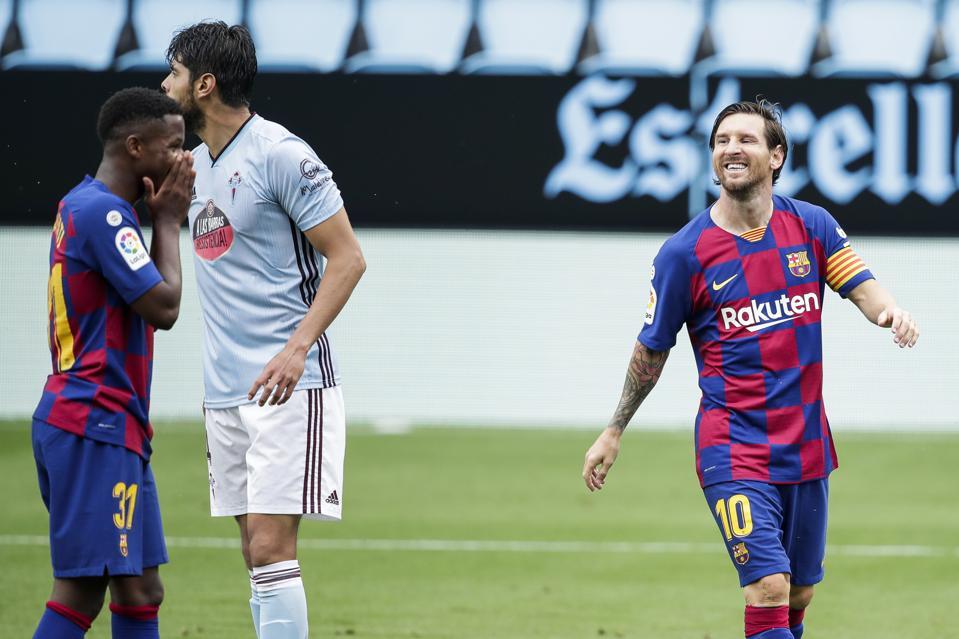 FC Barcelona will take on Celta Vigo in a La Liga clash on Thursday evening.
