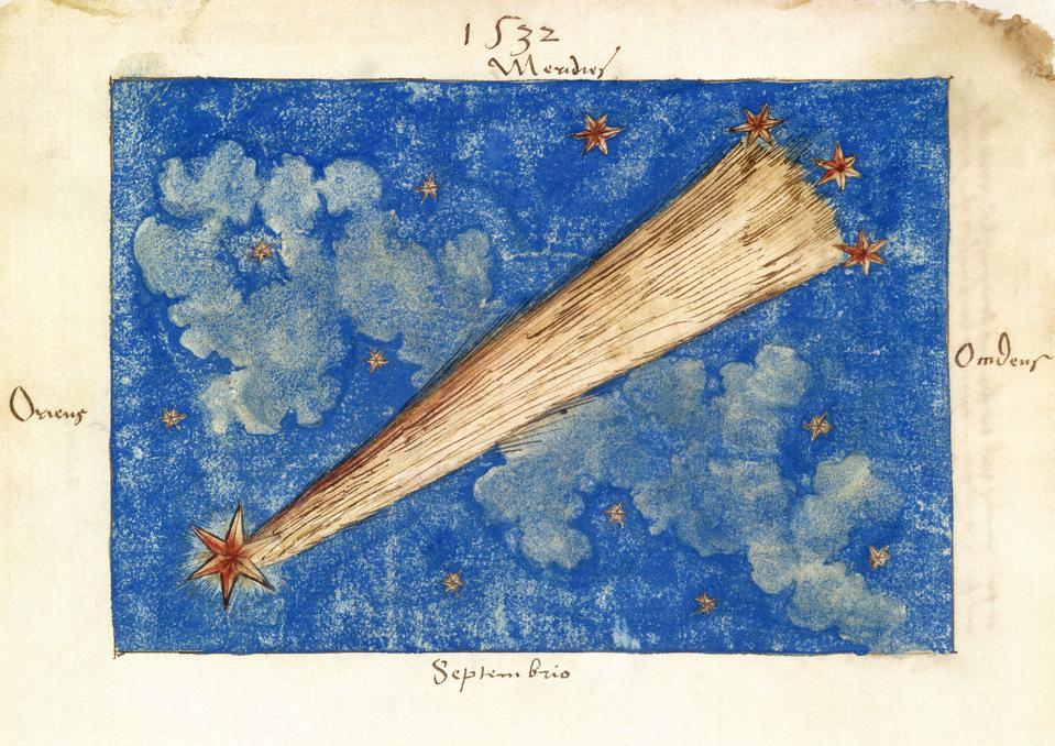 The Great Comet of 1532.