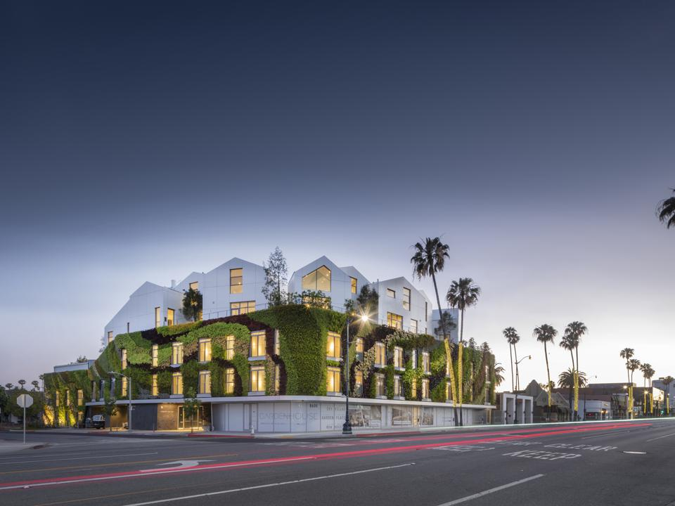 Gardenhouse in Beverly Hills, Ma Yansong's first completed project in the United States
