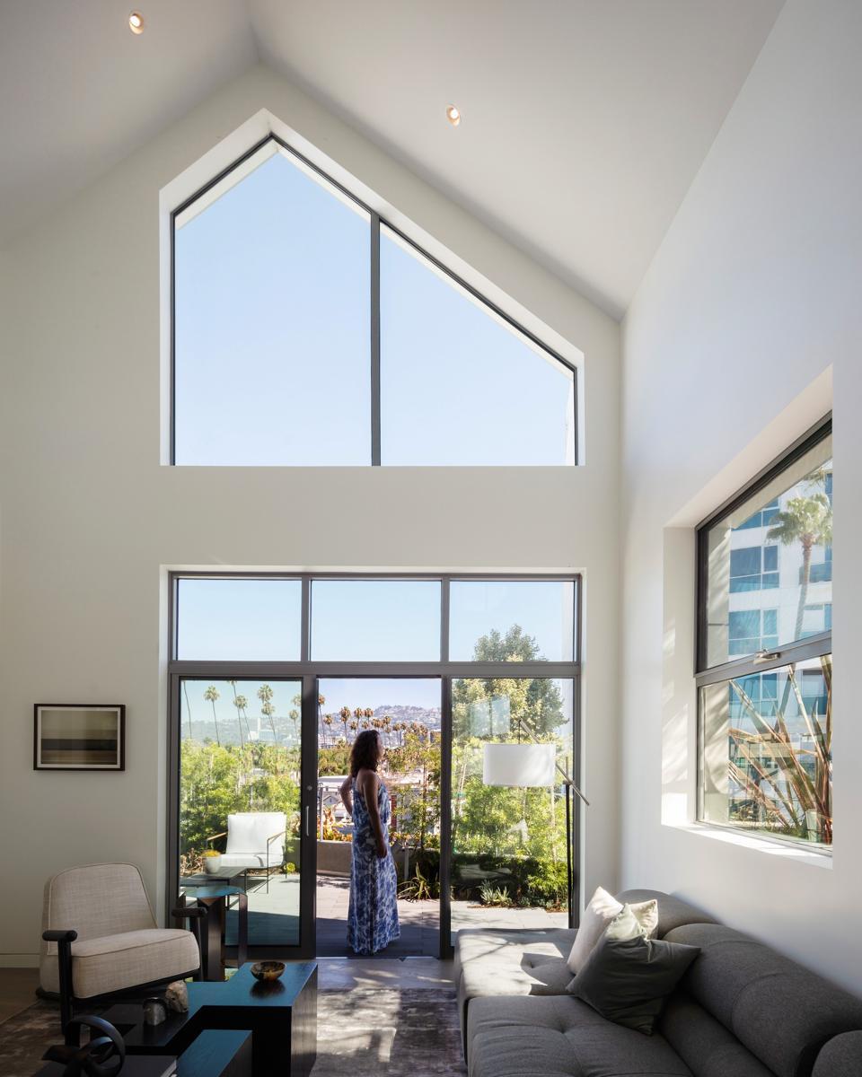 The interiors of a Gardenhouse apartment