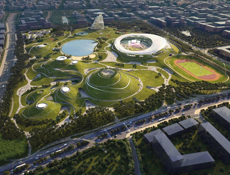 Quzhou Sports Campus in China