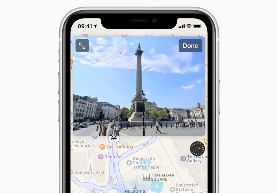 The latest and best Apple Maps features arrive in the U.K. and Ireland today.
