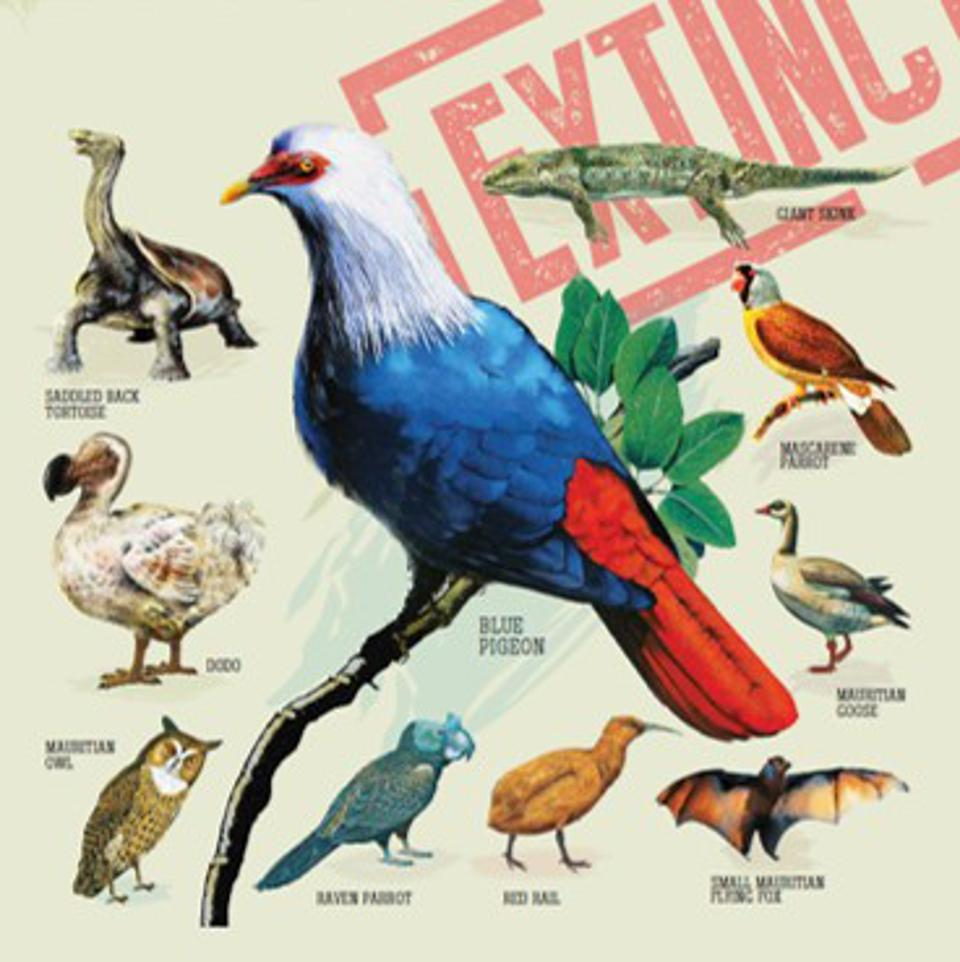 Mauritius saw many species become extinct during the early European colonial period