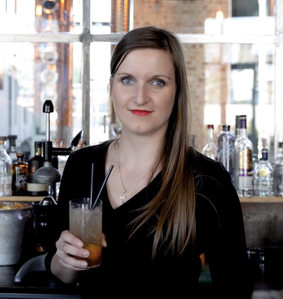 Veronika Karlova, noted vodka expert