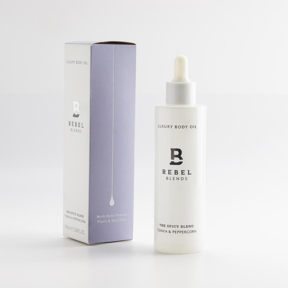Body oils by Rebel Blends