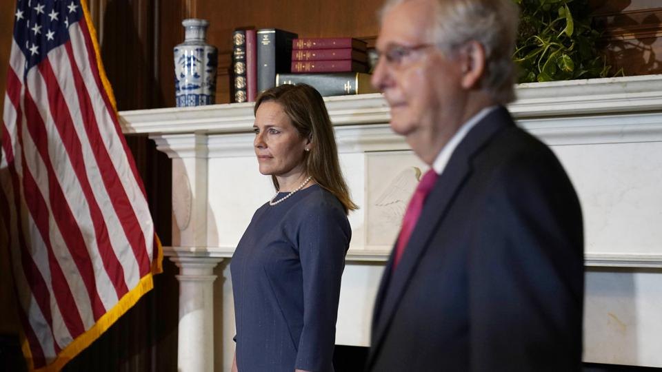 Senators meet with Supreme Court Candidate Amy Coney Barrett
