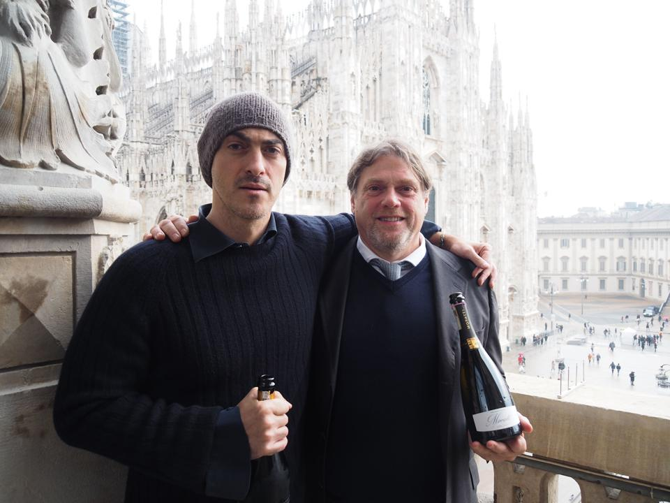 Owner, Gabriele Moratti (left) and CEO Gian Matteo Baldi (right)