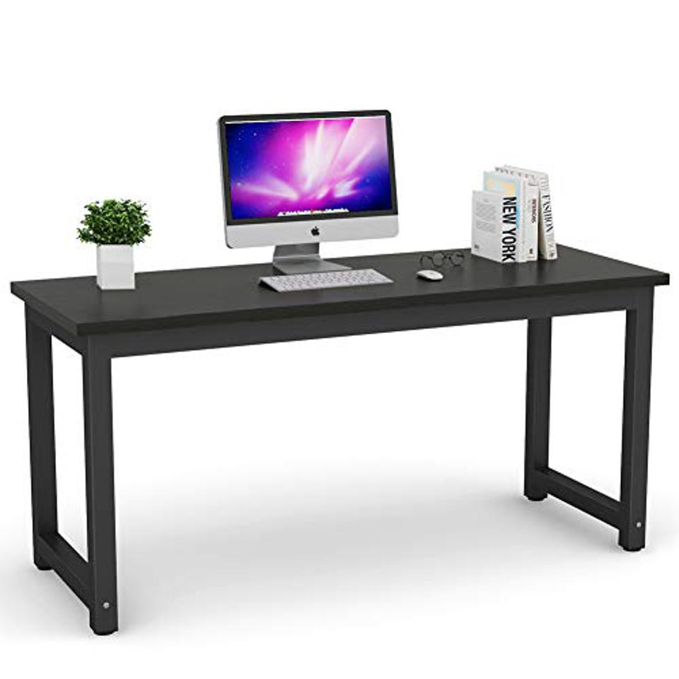 A large work desk.