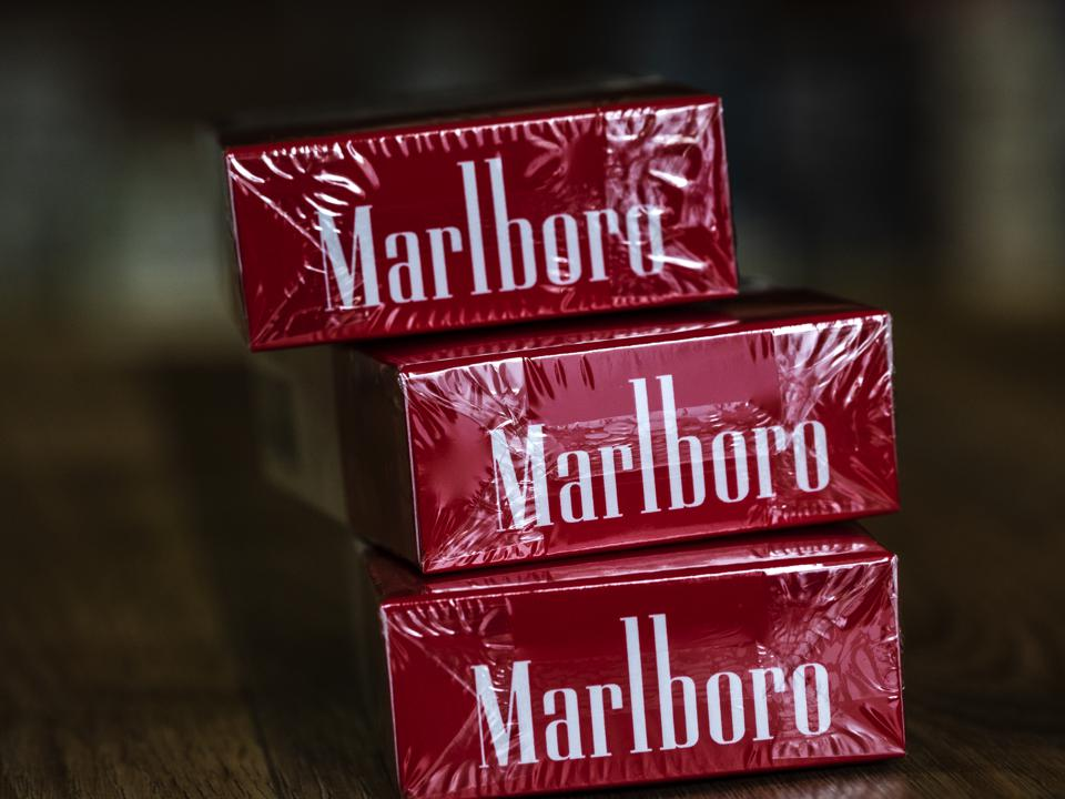 A pack of Philip Morris International Inc. Marlboro Red...