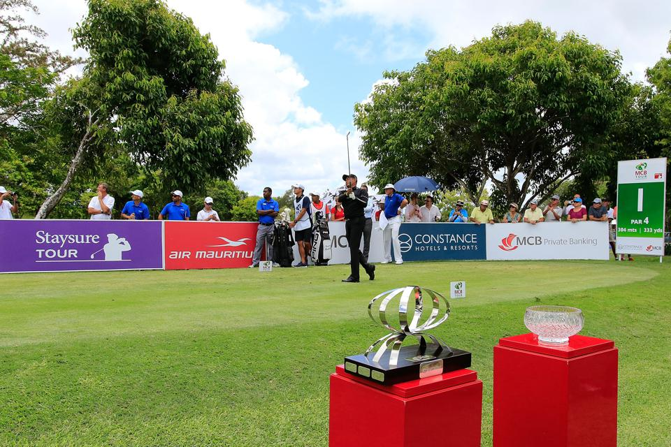 Many large businesses in Mauritius spend more sponsoring luxury golf tournaments than on biodiversity conservation. MCB Tour Championship.