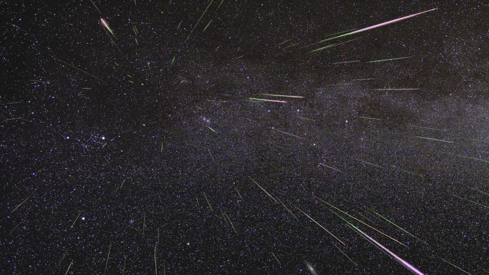 A meteor shower caused by Halley's Comet will grace the night skies this week, though dark skies away from light pollution will massively help.