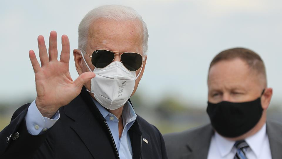 Joe Biden Travels To Michigan To Campaign For President