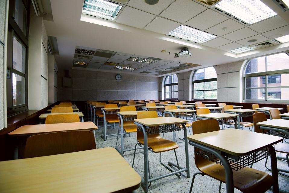 empty classroom, college board, SAT cancellation