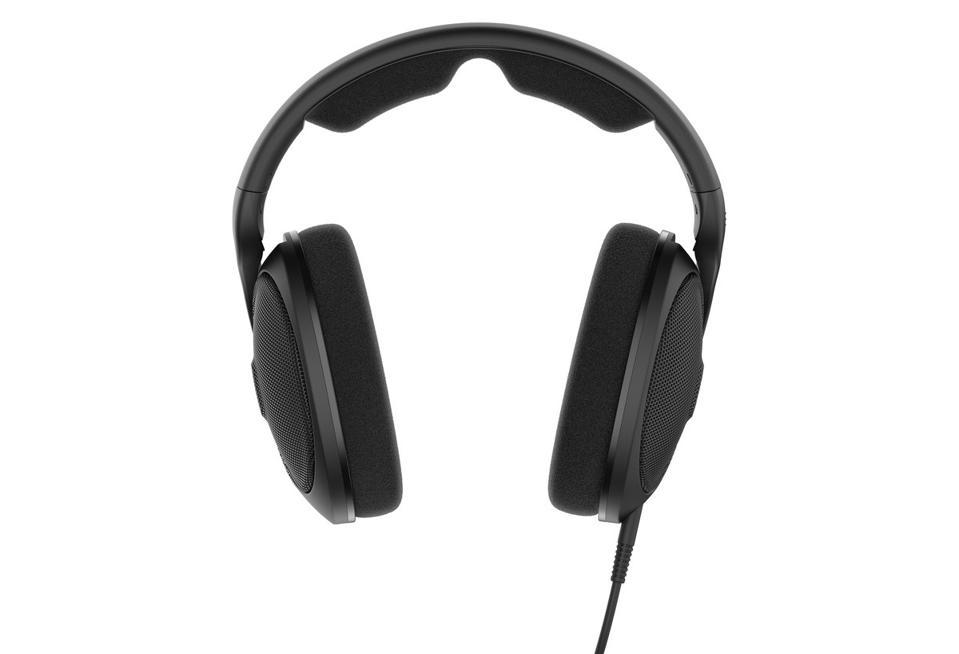 Head on view of Sennheiser HD 560S headphones
