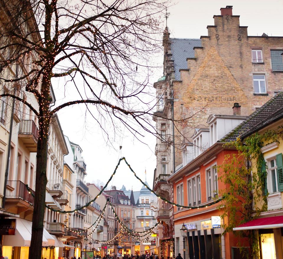 Christmas. Baden Baden. Baden Wurttemberg. Germany
