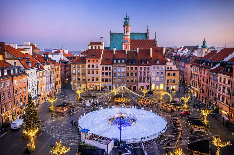 Best Christmas 2020: Warsaw, Poland