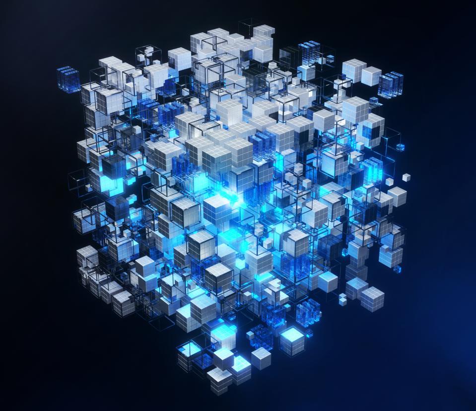 Virtual representation of big memory storage or artificial intelligence brain