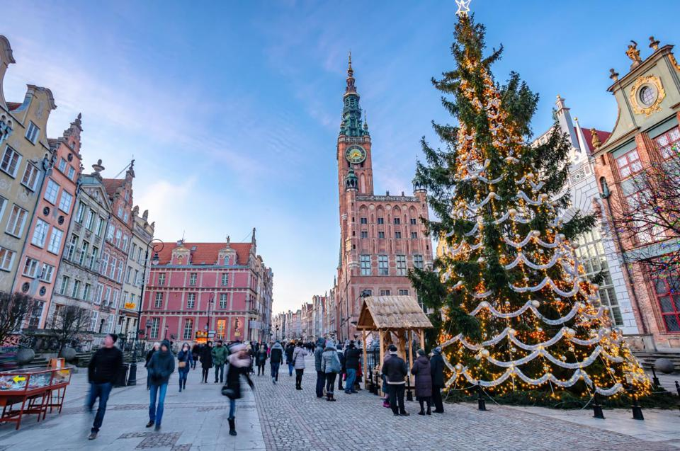 Christmas in Gdansk, Poland