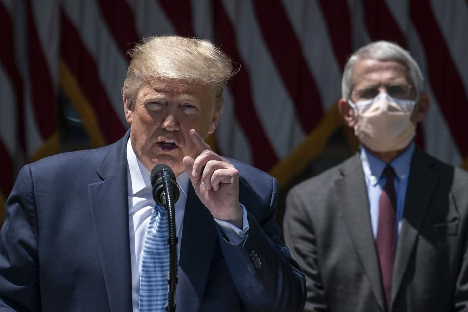 President Trump Makes Statement On Vaccine Development