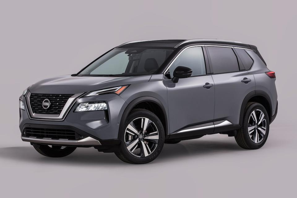 2021 Nissan Rogue Front Silver