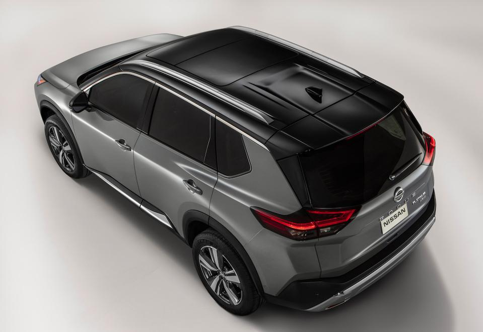 2021 Nissan Rogue Silver Sunroof
