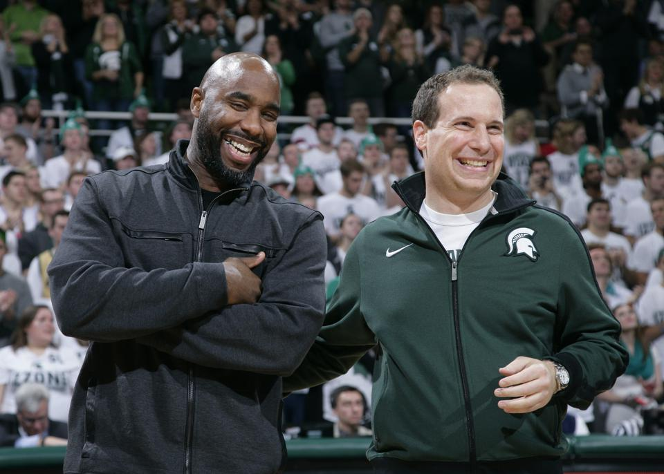Former Michigan State basketball walk-on, Mat Ishbia, is now worth more than Lebron James, Shaquille O'Neal, Dwanye Wade, and Michael Jorden combined.