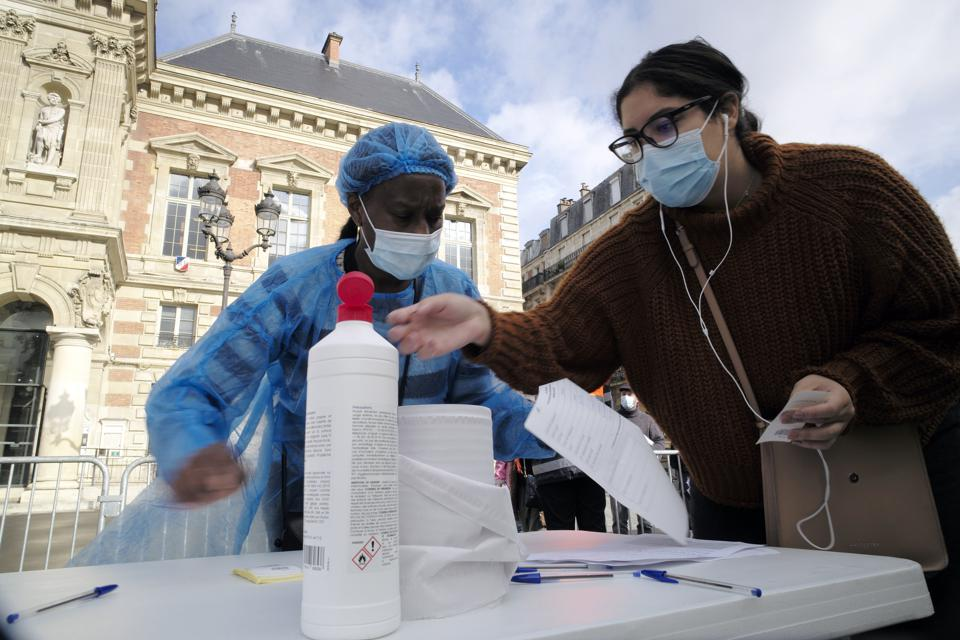 Paris Ups COVID-19 Testing In Surge Of Cases France
