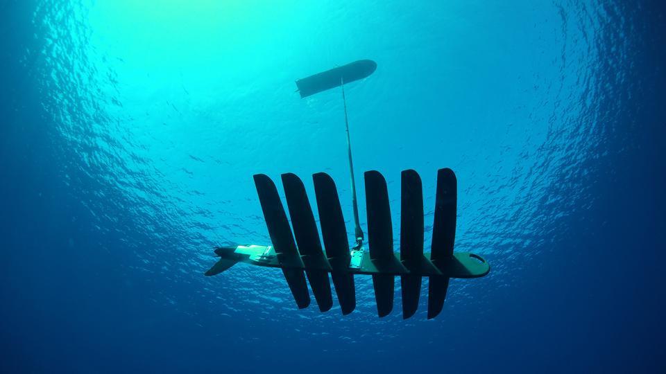 Wave Glider propulsion