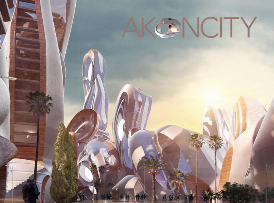 Akon, Akon City, Akoin, cryptocurrency, coronavirus, image