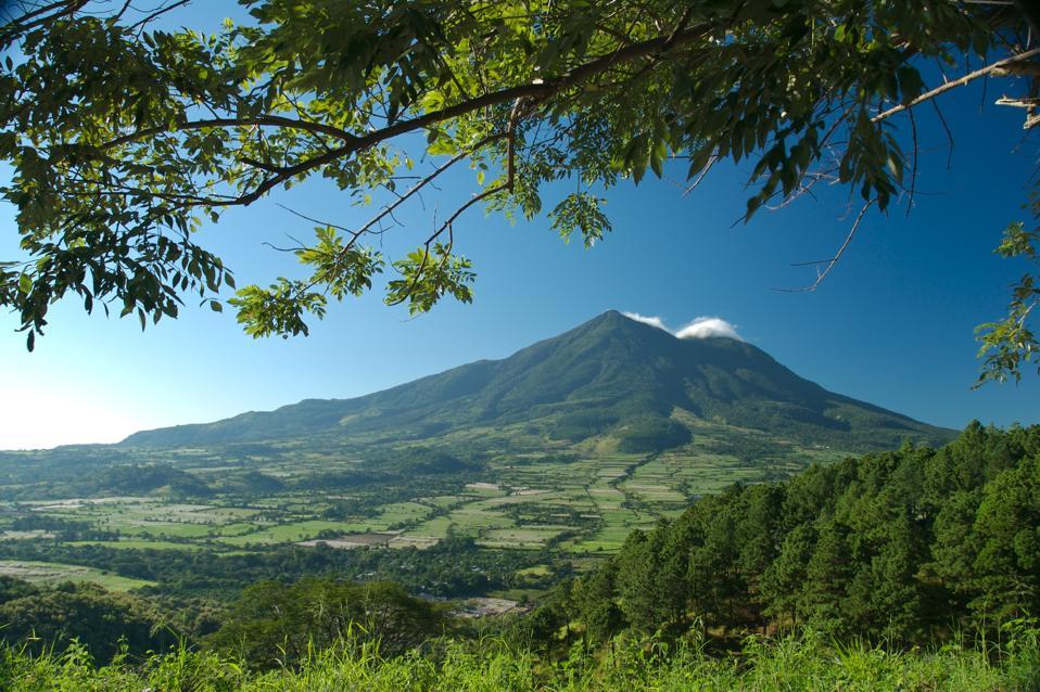 San Vicente Volcano El Salvador Central America coronavirus COVID-19 tourism borders test