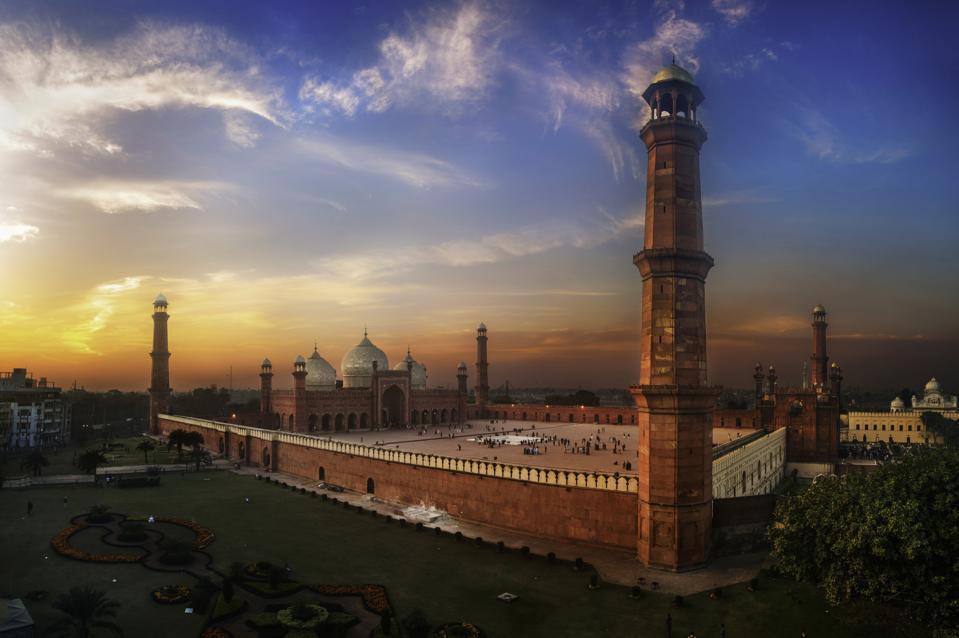 Badshahi Mosque or Imperial Mosque Lahore Pakistan tourism coronavirus COVID