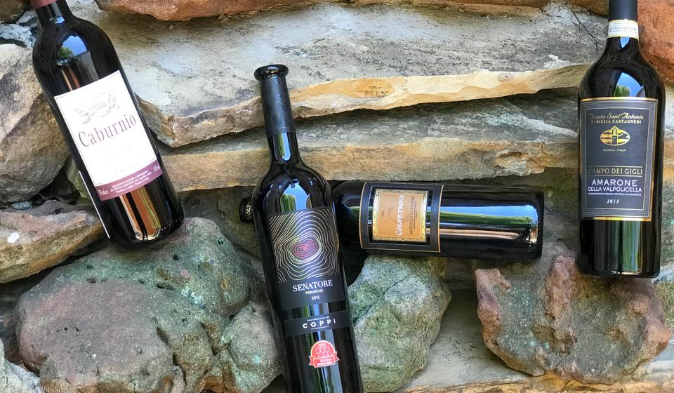 Four Gambero Rosso 2020 Vini D'Italia Wines