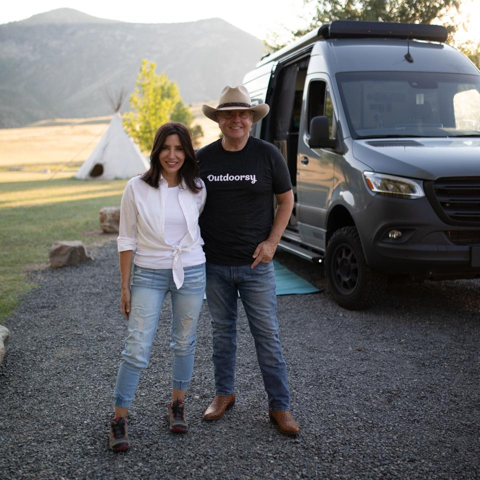 Outdoorsy cofounders Jen Young and Jeff Cavins