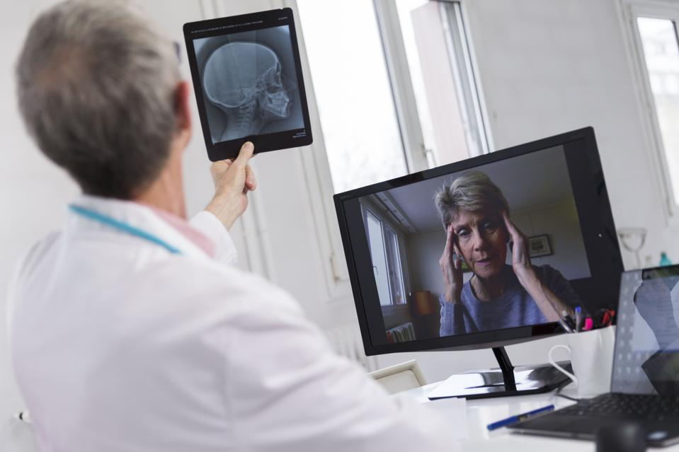 Covid-19 forced many patients to see doctors virtually. Now many like it