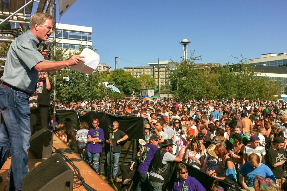 Rick Steves, Seattle Hempfest, cannabis legalization, cannabis policy, cannabis culture