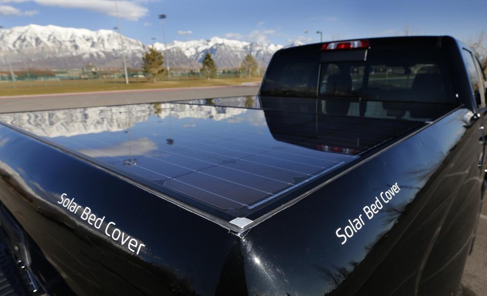 Innovative Solar Panels Aid Electric Pickup Trucks