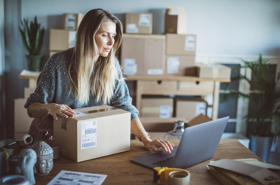 Help of technology in delivery business
