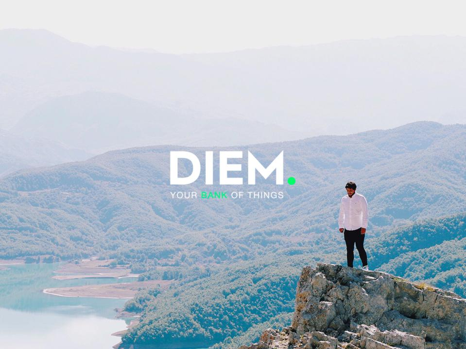 DIEM, the circular economy debit card concept billing itself as the 'Bank of Things'.