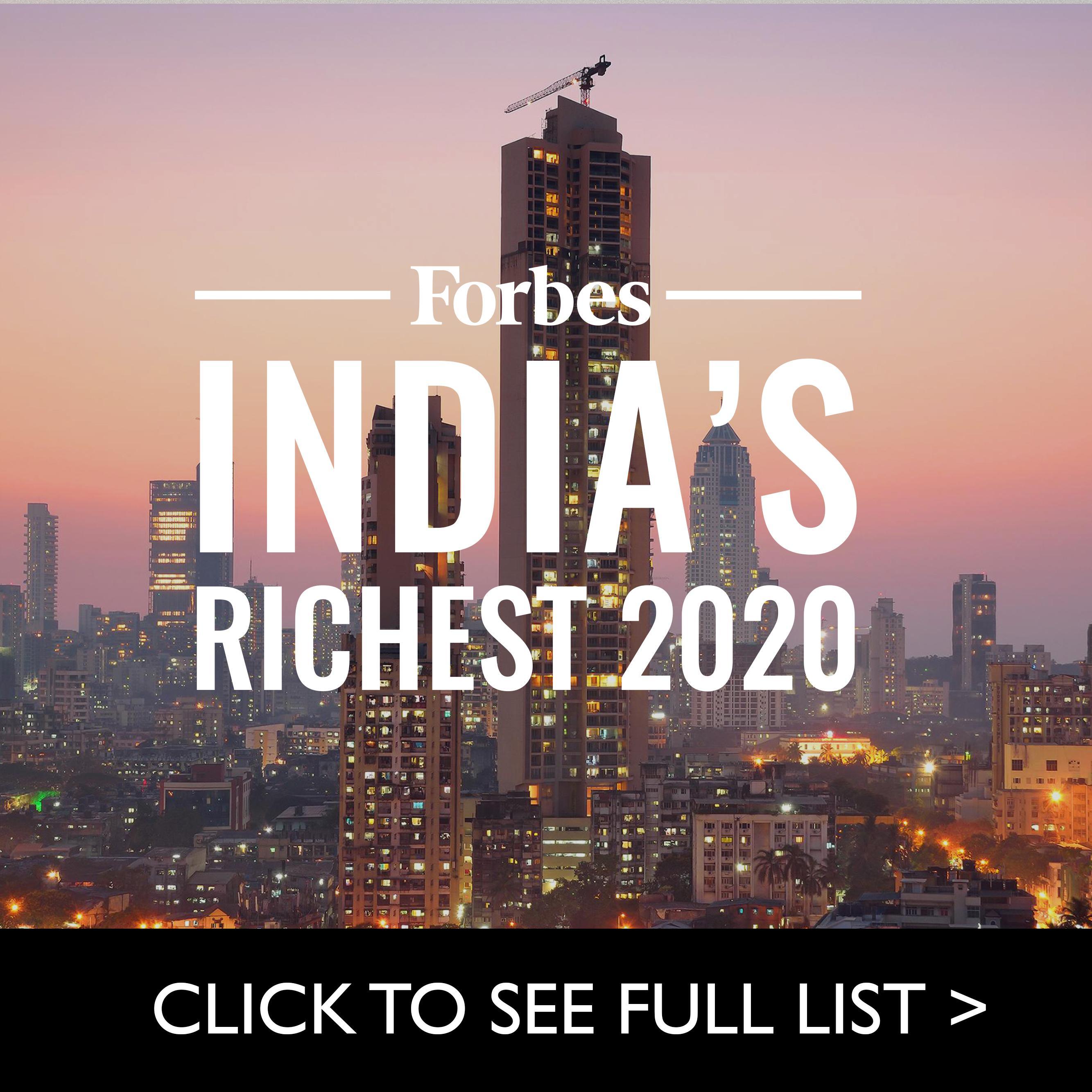 India Richest 2020
