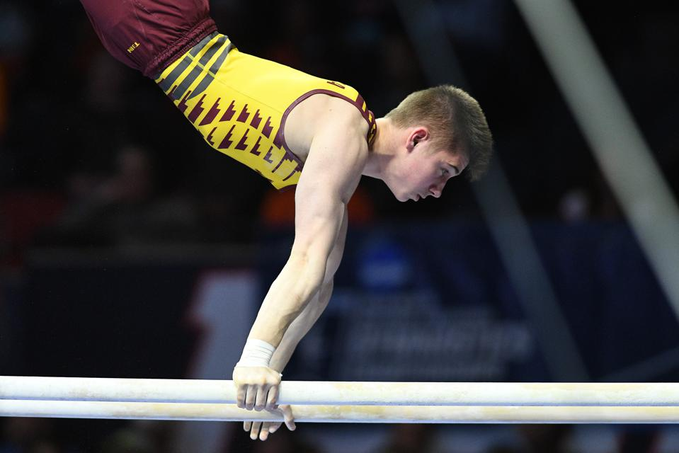 NCAA GYMNASTICS: APR 20 Men's Championship
