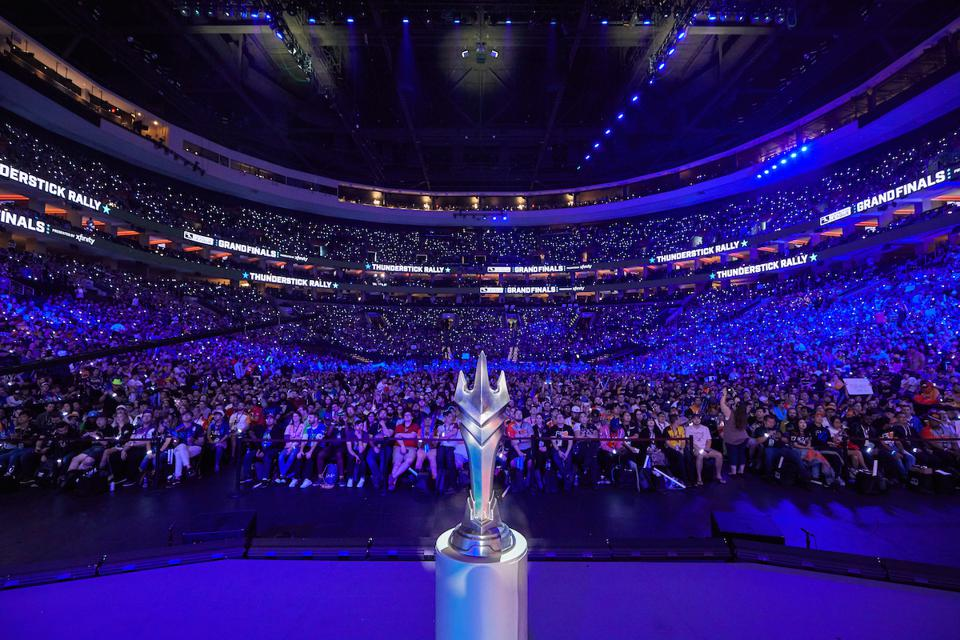The Overwatch League trophy
