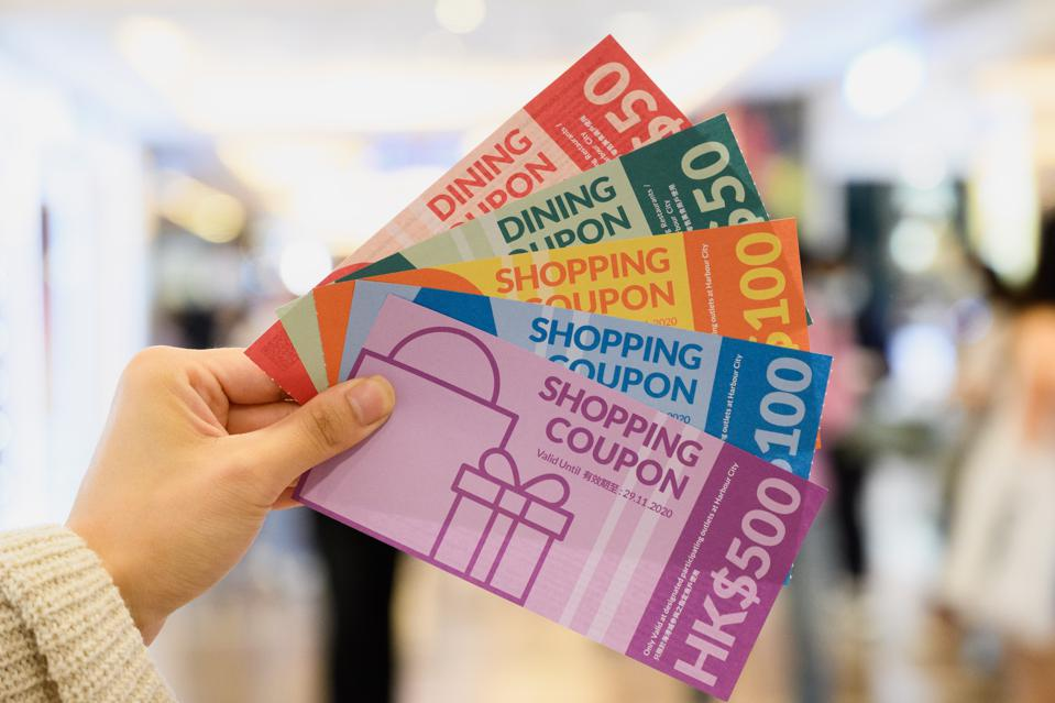 Harbour City's shopping and dining promotional campaign reward shoppers with up to 50% rebate.