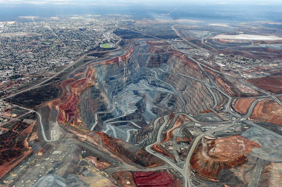 Aerial Views Of The Super Pit